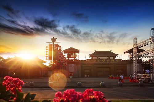 湖北三国赤壁古战场景区